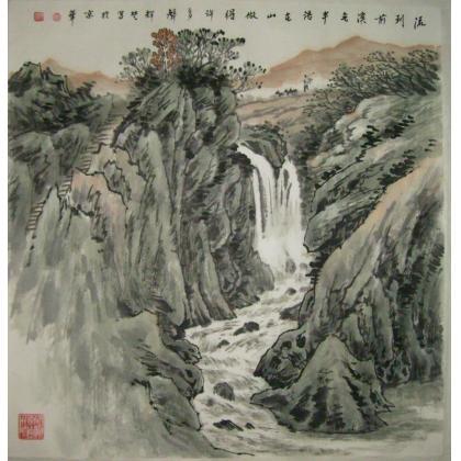《现代中国画展》,新加坡《湖南书画展》,马来西亚《当代中国水墨画大