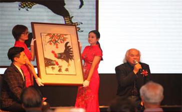 """东方金典集团主办""""中国书画艺术外交第一人-红墙书画家吴进良纪念""""一带一路""""提倡五周年艺术精品展"""""""
