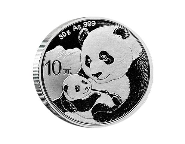 2019年熊猫银币 30克银币