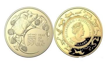 祝福新一轮农历生肖周期 澳铸币厂推出鼠年纪念币