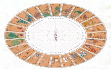 《二十四节气(四)》特种邮票昨日发行