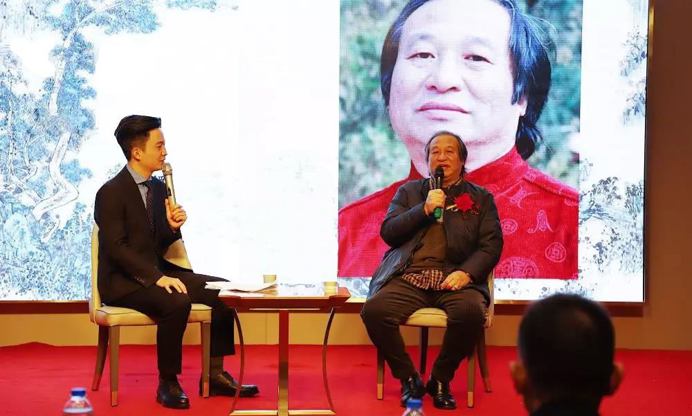 嵩岳画派创始人郭子昂个人作品全国巡展荆州站 圆满成功