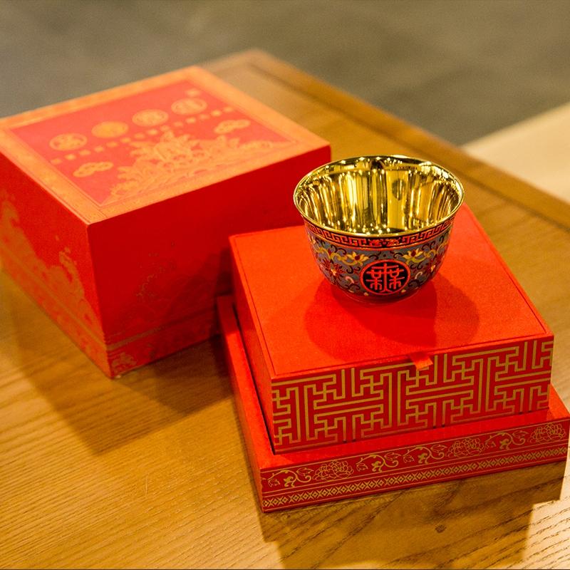 万寿无疆景泰蓝碗,故宫600年米振雄特别礼献